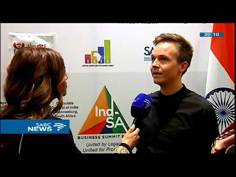 Designers showcase their work at the S Africa-India Business Summit