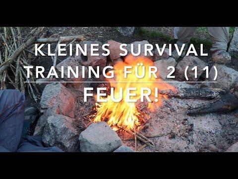 Lagerplan und Feuer - Kleines Survival Training für 2 (11)