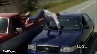 #Psych - Shawn Gets Shot (Good To Be Alive)