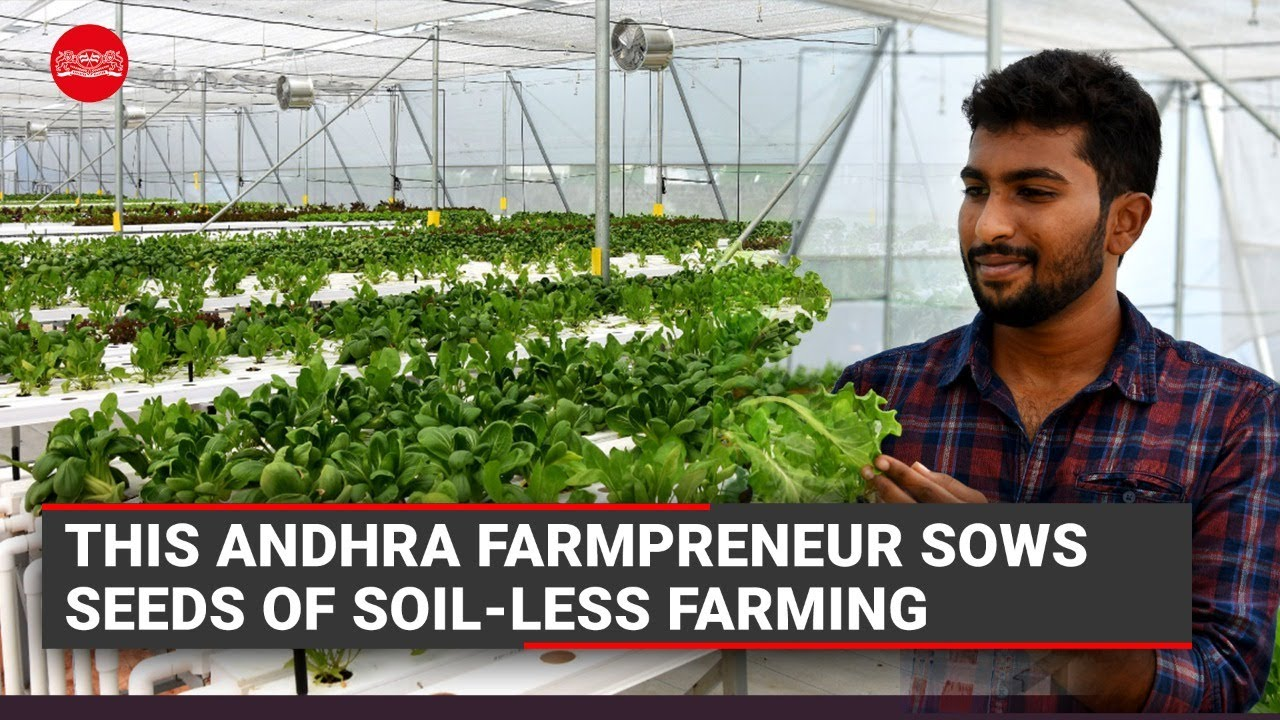 This 23-Year-Old Andhra Farmpreneur Sows Seeds of Soil-Less Farming