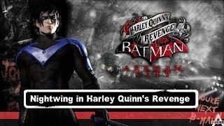 CHAR SWAPS; Batman; Arkham City; Nightwing in Robin