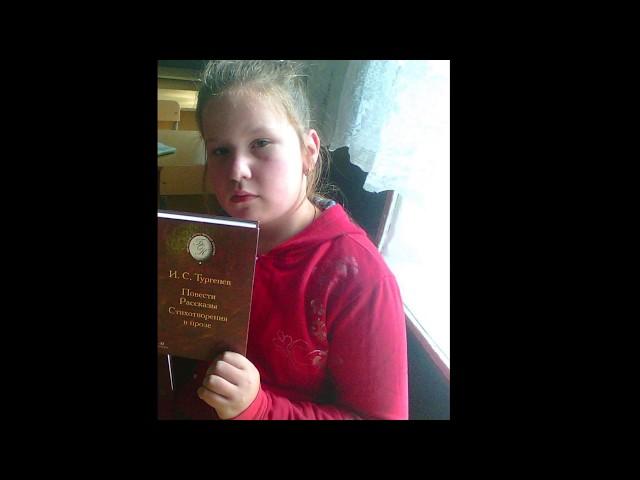 Изображение предпросмотра прочтения – ЕленаАнистратенко читает произведение «Жёлтая лягушка» И.С.Тургенева