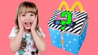 L.O.L. Surprise BOYS Series Custom McDonald's Happy Meal! Video