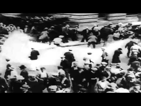 Riots And Strikes In The United States, circa 1920 - 1935 (full)