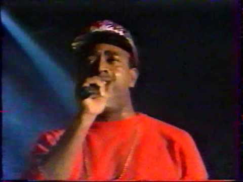 1992.Február.21. Globe Kurtis Blow,Grand Master Flash