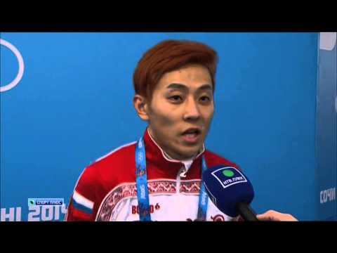Интервью Виктора Ана - золото на Олимпиаде в Сочи