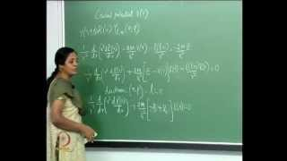Mod-01 Lec-32 Central Potential: The Radial Equation