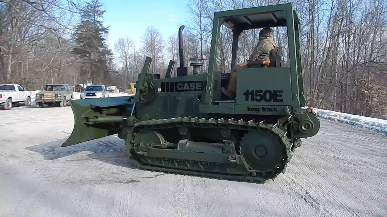Case E Military Dozer Low Hour C Amp C Equipment 812 336