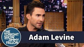 Adam Levine Helped Gwen Stefani Pronounce Colbert