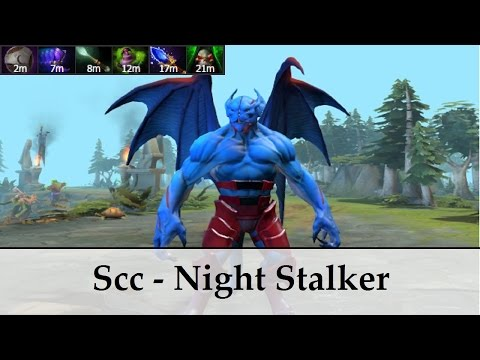 Scc [9218 MMR player] - Night Stalker | Dota 2 gameplay