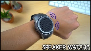 This is a Speaker Watch!