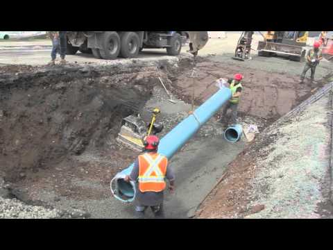 Water and sewer replacement, Halifax, NS