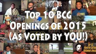 Top 10 BCG Openings of 2015 (As Voted by YOU!)
