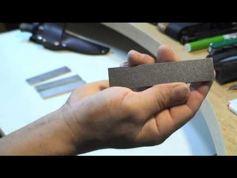 Cleaning Your Diamond Sharpening Stone