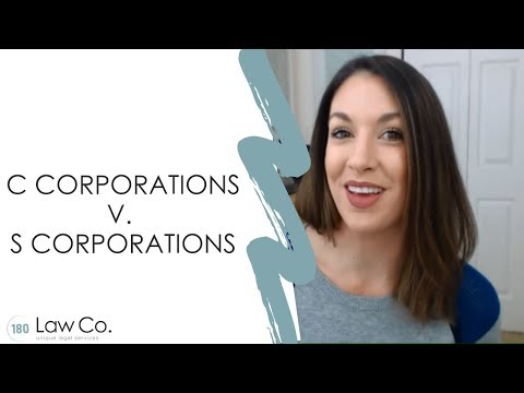 C Corporations v. S Corporations - All Up In Yo' Business