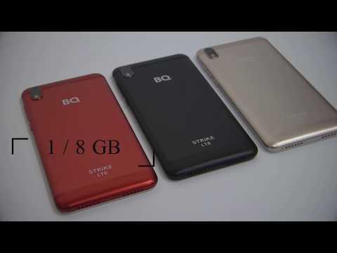 Обзор BQ 5211 STRIKE / BQ 5209L STRIKE LTE