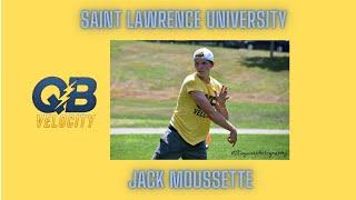 Saint Lawrence University QB Jack Moussette