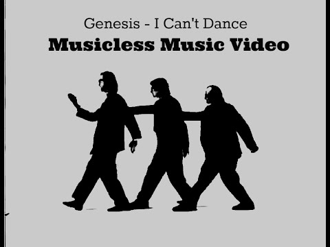 musicless music video i can 39 t dance by genesis youtube. Black Bedroom Furniture Sets. Home Design Ideas