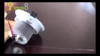 9W COB LED DOWNLIGHT,MULTI-Direction Adjustable Sample Vedio