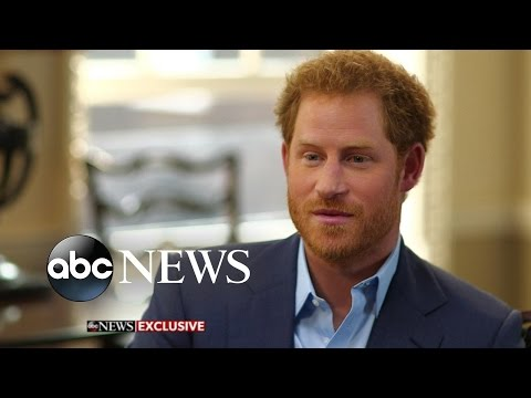 Prince Harry Opens Up about Princess Diana, Having Kids