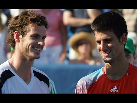 Andy Murray vs Novak Djokovic incredible rally and match point | Cincinnati 2008 Final Flashback