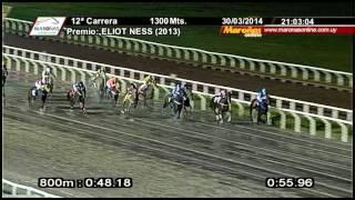 ELIOT NESS (2013) Tiro 1300MTS - Maroñas