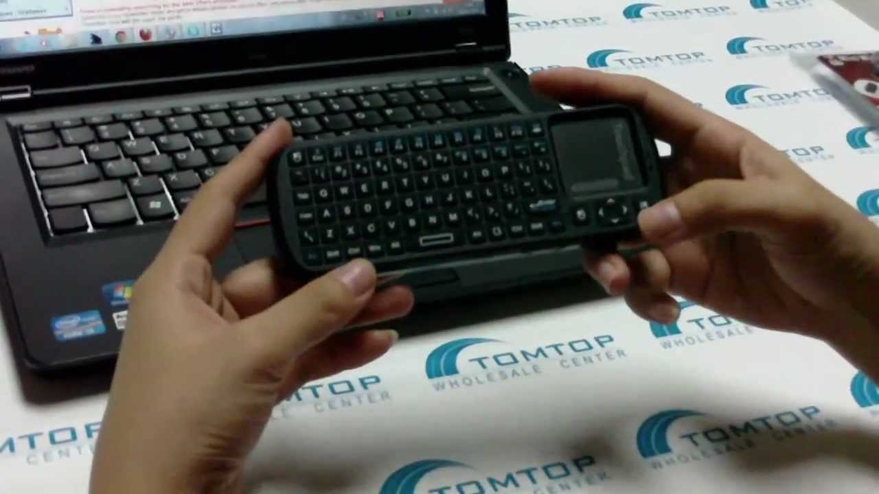 tomtop 2 4g rf wireless ipazzport handheld keyboard touchpad with smart tv pc remote youtube. Black Bedroom Furniture Sets. Home Design Ideas