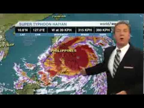 Super Typhoon Haiyan, one of strongest storms ever, hits central Philippines