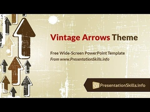 free vintage powerpoint template demo youtube