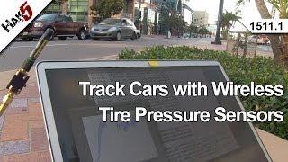 Track Cars with Wireless Tire Pressure Sensors, Hak5 1511.1