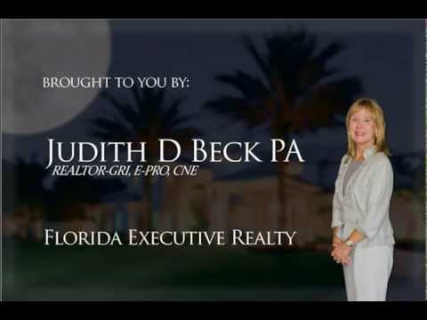 For Sale! Judi Beck and Florida Executive Realty present 17931 Holly Brook