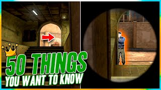 50 THINGS YOU WĄNT TO KNOW in CS:GO