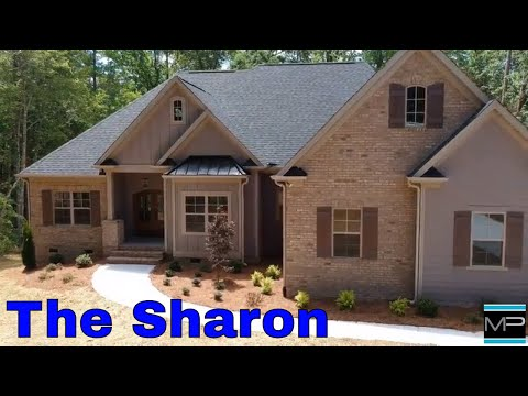 The Sharon Plan Walkthrough/ Mike Palmer Homes Denver NC Home Builder