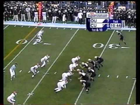 #1 Oklahoma at Colorado - 2003 - Football