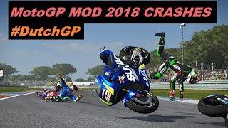 MotoGP 2018 Mod | Crash Compilation | PC GAMEPLAY | TV REPLAY MotoGP