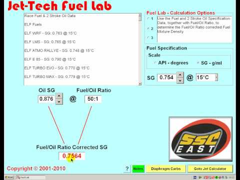 Jet-Tech Fuel Lab
