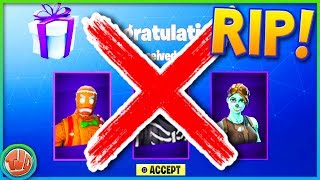 5 REASONS WHY GIFTING IS NOT THERE!!! -Fortnite: Battle Royale