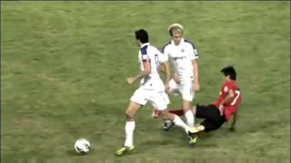 Shockingly bad tackle iฑ Chinese Super League