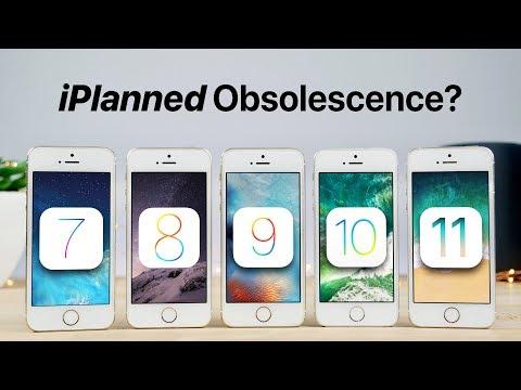 IOS 7 Vs 8 Vs 9 Vs 10 Vs 11 On IPhone 5S Speed Test!
