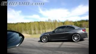BMW 1M vs BMW M2 6-speed manual 340 HP vs 370 HP