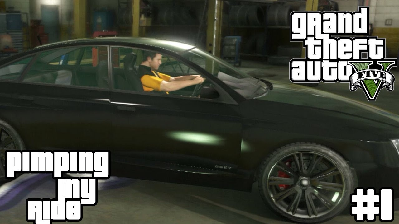 Gta 5 Pimping My Ride 1 Audi A6 Obey Tailgater Grand