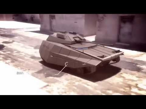 Israeli Next Generation Future Combat Tank Carmel Advanced Alien Technology