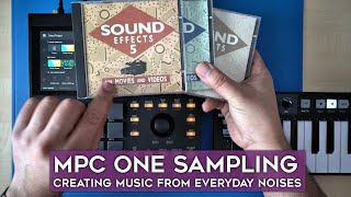 AKAI MPC One: Creating music from everyday noises with sample keygroups