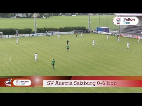 ⚽ HIGHLIGHTS: SV Austria Salzburg 0-6 Iron