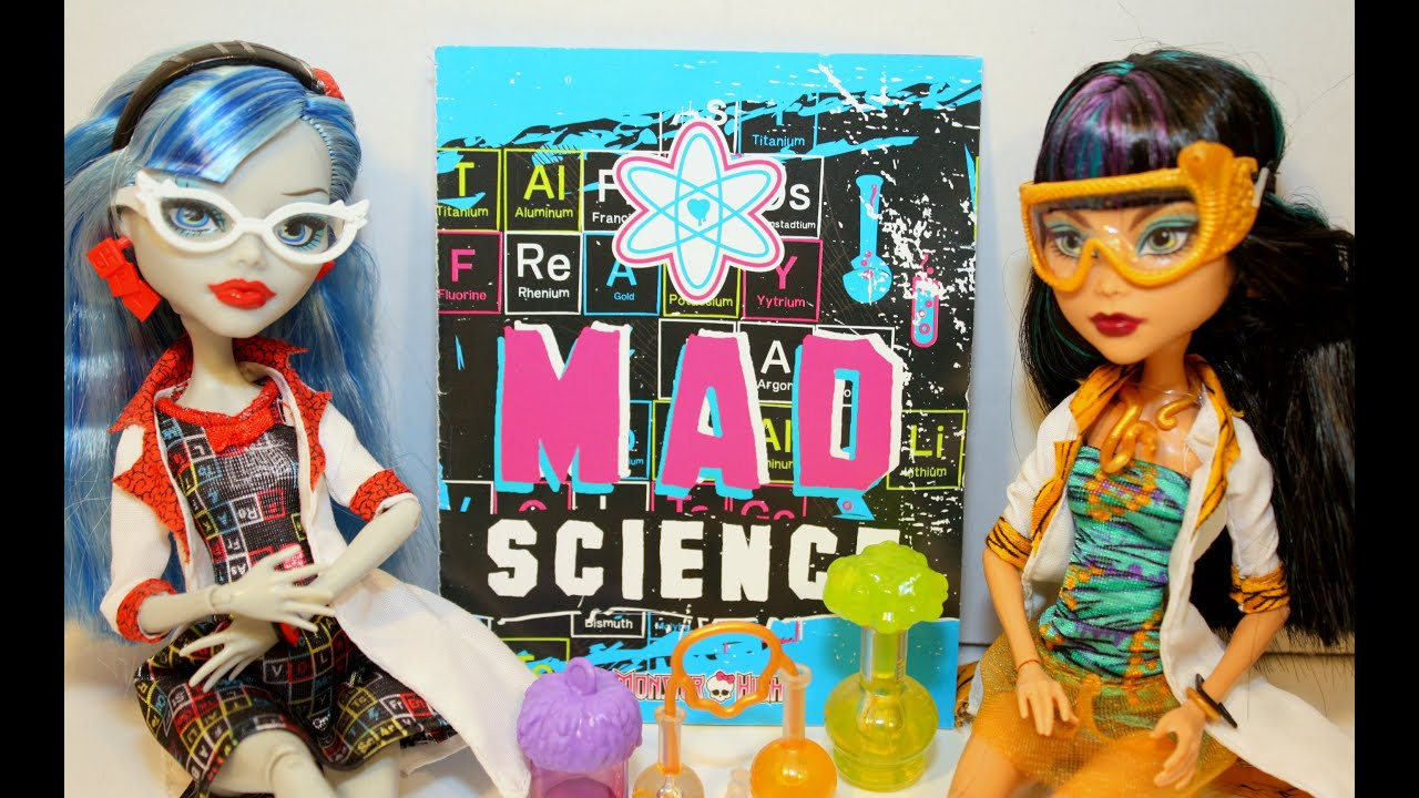 3c47be70c069 Monster High Dolls ~ Lab Partners Cleo De Nile   Ghoulia Yelps ~ Mad Science  ~ Review