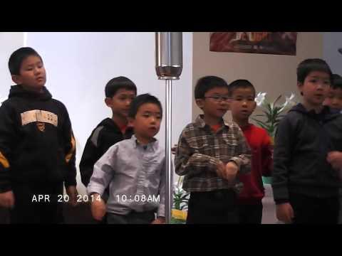 GCAC Children Easter Service Songs (Full HD)