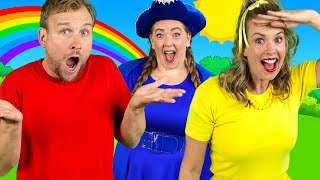 Colors Everywhere - Kids Song | Learn Colours with Bounce Patrol