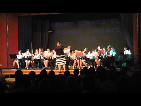 Training Band- Little Brown Jug/ All That Jazz/ The Blue Rock (Summer Concert 2013)