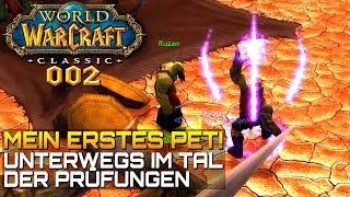 WOW CLASSIC [Let\'s Play] #002 ❤️ Mein ERSTES PET | Gameplay Deutsch/German