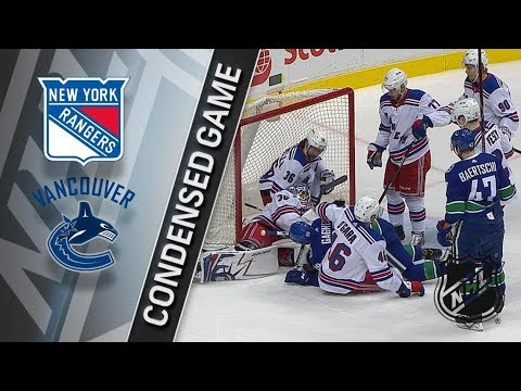New York Rangers vs Vancouver Canucks – Feb. 28, 2018 | Game Highlights | NHL 2017/18. Обзор